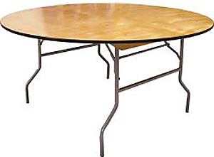 Image of a 72 inch Round Table