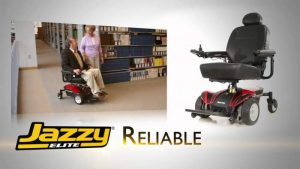 Alternative Image of a Power Wheel Chair (Jazzy Elite)
