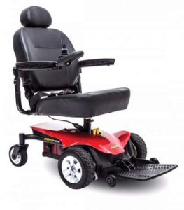 Image of a Power Wheel Chair